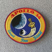 Embroidery NASA Space Program Apollo 14 Hook Loop Emblem Patch Tactical Badge