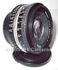 Nikon 50mm Series E f1.8 Prime Standard Pancake Type Lens Digital OK More Listed