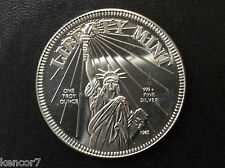 1985 Liberty Mint Statue of Liberty Silver Medal A3350