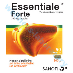 Essentiale Forte 50 caps Liver Support 100% No Side Effect
