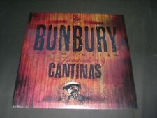 """Bunbury VINILO DOBLE + CD Licenciado Cantinas NUEVO LP 12"""" heroes del silencio"""