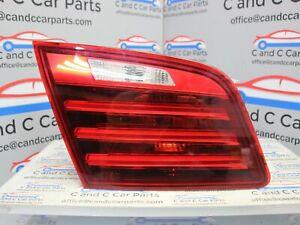 BMW 5 SERIES REAR LEFT BRAKE LIGHT INNER PASSENGER LCI F10 7306163 C2E3