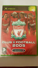 Liverpool FC Club Football 2005 (xbox) new sealed