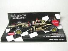 Lotus Renault E20 N° 9 K. Raikkönen 2nd Bahreïn GP 2012