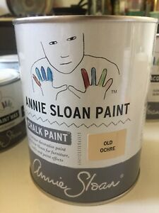Annie Sloan Chalk Paint 1 litre in Old Ochre NEW