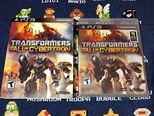 Transformers: Fall of Cybertron BRAND NEW SEALED  (Sony PlayStation 3, 2012)