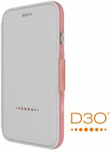GEAR4 Oxford  iPhone SE (2020) and iPhone 7/8 D3O, Booklet Case Rose Gold