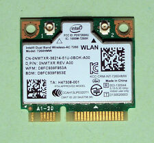 Intel Dual Band Wireless-AC7260 CN-0NMTXR Model 7260HMW  867Mbps Bluetooth4.0