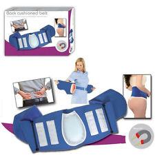 Magnetic Blue Lumbar Back Support Belt 16 Magnets Cushion Brace Lower Back Pain
