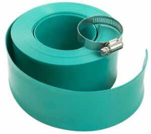 """Aqua Select 2"""" Swimming Pool Backwash Hose with Clamp (Various Lengths)"""