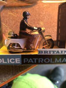 Britain Ltd  1/32 Scale Police Patrolman With Loud Hailer 9697