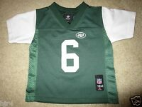 New York NY Jets #6 NFL Football Jersey Baby Toddler 18M 18 months