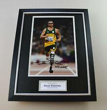 Oscar Pistorius Signed Photo Framed 16x12 Blade Runner Autograph Display + COA