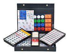 Japanese Mahjong Tiles Gabin Mahjongg Pai Set Yellow with Case Mah Jong Tiles