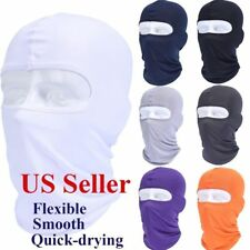 Unisex Motorcycle Cycling Lycra Sun UV Protection Balaclava Outdoor Face Cover
