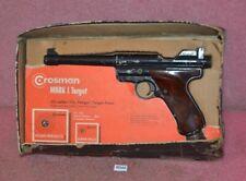 Vintage Crosman MARK I Target Pellgun Air Pistol.