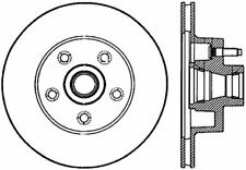 Disc Brake Rotor-Front Disc Front Right Stoptech 127.61010R