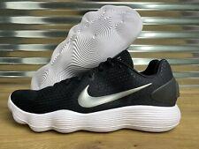 Nike Hyperdunk Low 2017 TB Basketball Shoes Black White Silver SZ  (942774-002)