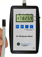 DC MILLIGAUSS METER MAGNETIC MAGNETOMETER TESLA GAUSSMETER
