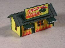 Z Scale Taco Zilla Taco Stand.