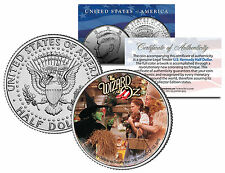 "WIZARD OF OZ ""JUDY GARLAND AS DOROTHY"" LICENSED JOHN F. KENNEDY HALF DOLLAR!"