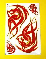 Aufkleber Sticker - TRIBAL Dragon                   #103
