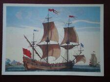 POSTCARD MERCHANT CARGO VESSELS A SAILING SORE & SAILING SHIP BY ALEX JALLOT