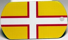 Dorset County Flag Tag - Trackable For Geocaching (Travel Bug Geocoin)