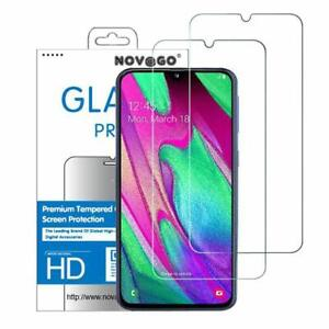 Samsung Galaxy A40  - 2 Films Protection Écran en Verre trempé