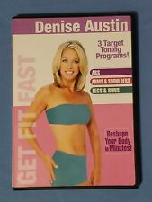 Denise Austin - Get Fit Fast (Dvd, 2005), Pre-owned