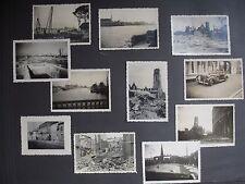 Guerre 1939-1945. La Haye . Scheveningen . lot de 21 photos . 1940