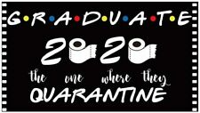 Graduation Banner 2020 - Quarantine Party Supplies 2020