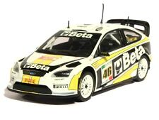 "MINICHAMPS 1/43 ""BETA"" FORD FOCUS RS WRC #46 MONZA RALLY 2008 VALENTINO ROSSI"