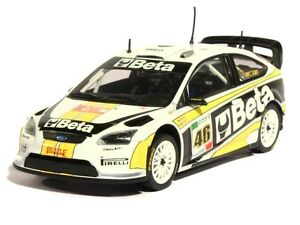 """MINICHAMPS 1/43 """"BETA"""" FORD FOCUS RS WRC #46 MONZA RALLY 2008 VALENTINO ROSSI"""