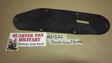 Jeep MUTT M151A2 Transfer Case and Parking brake shift Boot NOS
