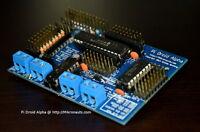 Pi Droid Alpha Full Kit - BEST educational Robot controller for Raspberry Pi