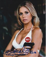 BRITT EKLAND signed JAMES BOND THE MAN WITH THE GOLDEN GUN MARY GOODNIGHT photo