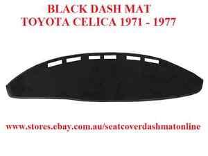 DASH MAT, BLACK DASHMAT, FIT TOYOTA CELICA 1971 - 1977, BLACK
