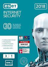 ESET Internet Security Box-pack (1 Jahr) 3 Benutzer