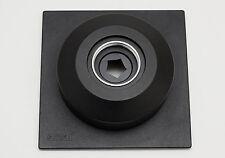 Sinar placa DB lensboard shutter copal 1, compur 1 p2, P, X, f2, norma,
