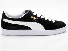 NEU Puma Court Star Suede Gr 44 Herren Leder Sneaker Schuhe 364621-01 schwarz