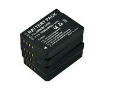 New 4x DMW-BCG10E BCG10E BCG10PP Battery for DMC-ZR1A ZX3R ZR3S ZS8GK ZS8K ZS10T