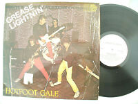 HOTFOOT GALE LP GREASE LIGHTNIN' castle 032 signed on the rear..... 33 rpm