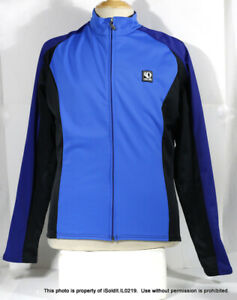 MENS PEARL IZUMI CYCLING JERSEY SZ L Bicycle Long-Sleeve Technical Wear BLUE
