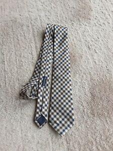 Aquascutum house check  silk tie
