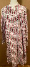 "Women's ""Lanz of Salzburg"" 100% Cotton Nightgown Size Small & Medium"