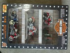 1999 Maisto Harley Davidson Collectibles Set Of 5 Motorcycles 1:18 New in Box