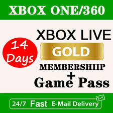 XBOX LIVE GAME PASS Ultimate - GAME PASS LIVE GOLD Fast Delivery Worldwide