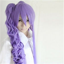 Vocaloid Gakupo Full Hair Wigs Purple Wig+Free Wig Cap