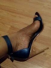 Tibi Caspian Blue Amber Heels 39